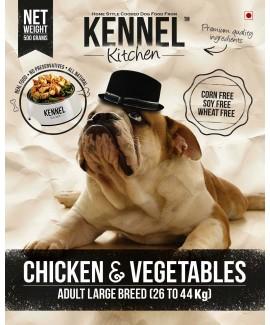Kennel Kitchen Chicken & Vegetables Adult Large Breed-Dog Food 8.4 Kgs