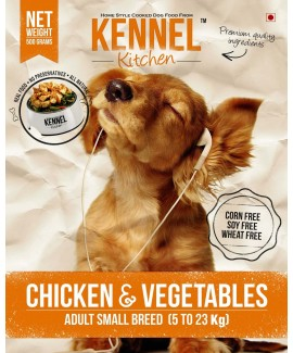 Kennel Kitchen Chicken & Vegetables Adult Small Breed-Dog Food 8.4Kgs