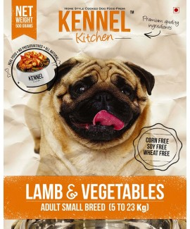 Kennel Kitchen Lamb And Vegetables Adult Small Breed-Dog Food 7.2 Kgs
