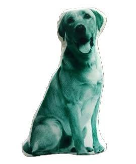 Labrador Shaped Cushion