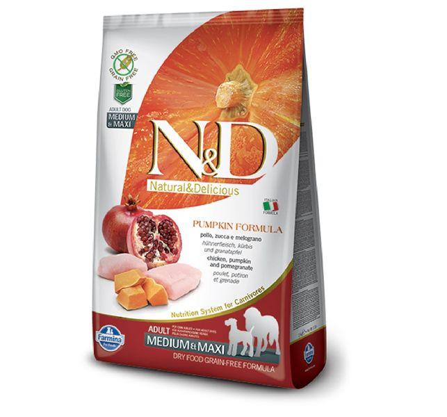 2kg Pumpkin Grain Free Chicken Pomegranate Dog Food
