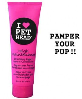 251.3 ml Pet Head High Maintenance Leave inDog Conditioner