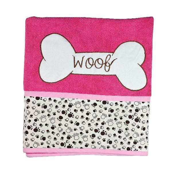 Pink HUFT Microfiber Towel (HUFTGR140)