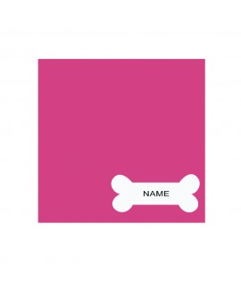 Bone Pink Personalised Cushion