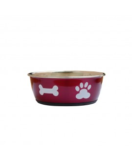 Spoilt Pink- Bones and Paws Bowl