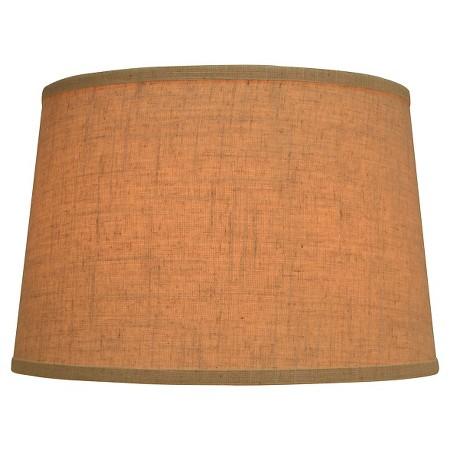 Jute Fabric Drum Lamp Shade