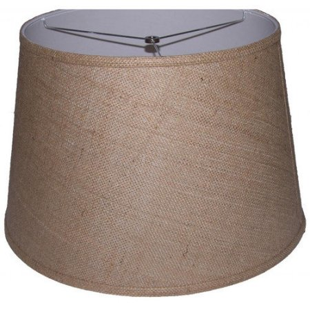Linen Fabric Drum Lamp Shade for Floor Lamp