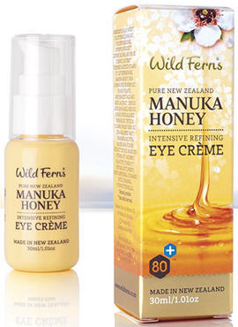 Wild Ferns Manuka Honey 80+ Intensive Refining Eye Creme (30ml)