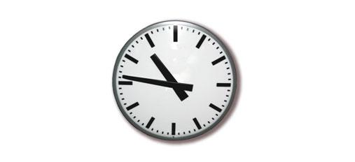 ANALOGUE CLOCK DISPLAY