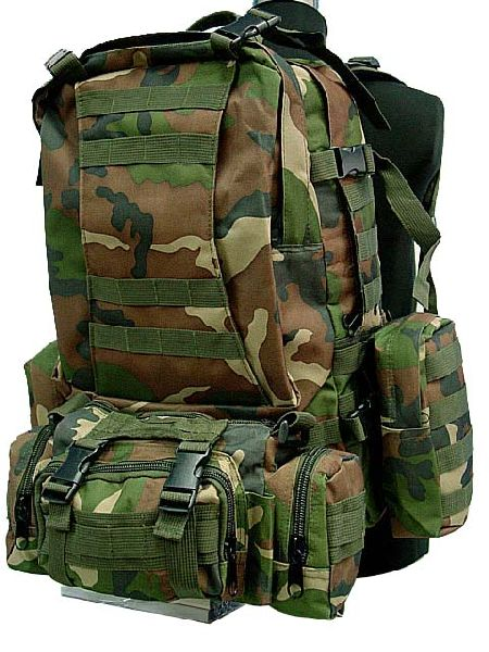 Tactical Full Gear Combo Backpack
