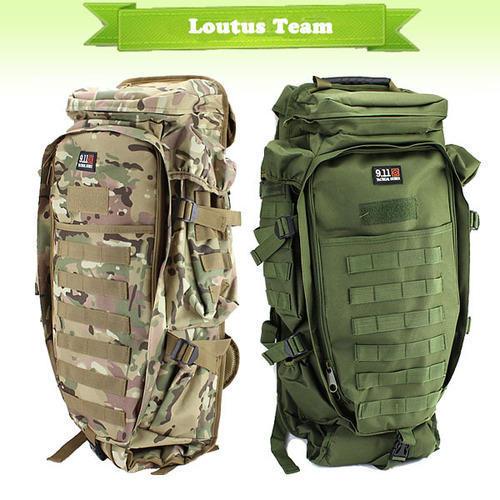 Tactical Full Gear Rifle Combo Backpacks