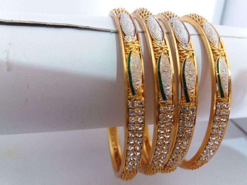 Silver Gold Bangles
