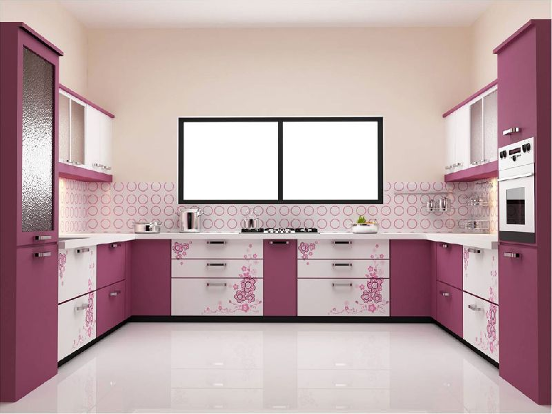 Modular Kitchens By Shree Gurukrupa Steel Furniture Modular Kitchens Inr 600 Square Feet Approx Id 3467385