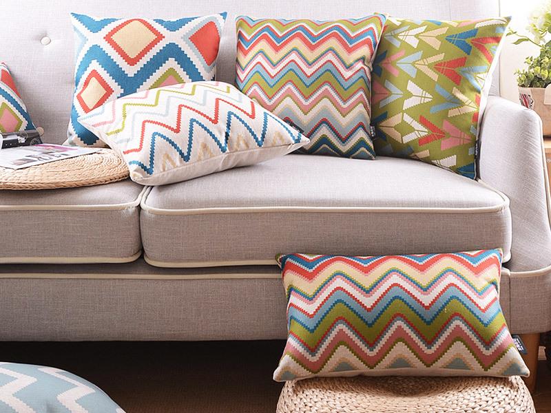 Delightful Sofa Cushion Cover