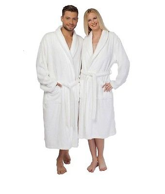 White Bathrobes