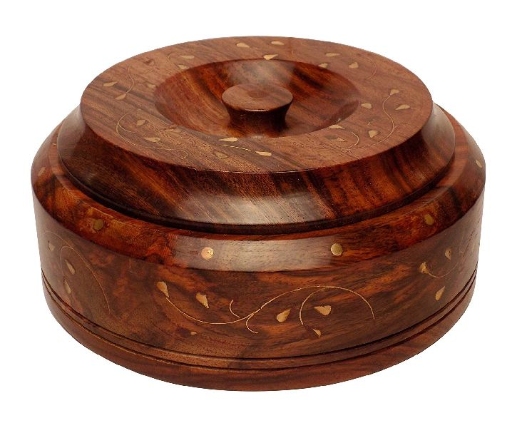 5 Inch Wooden Serving Bowl