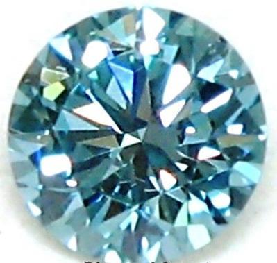 Blue Moissanite Diamonds