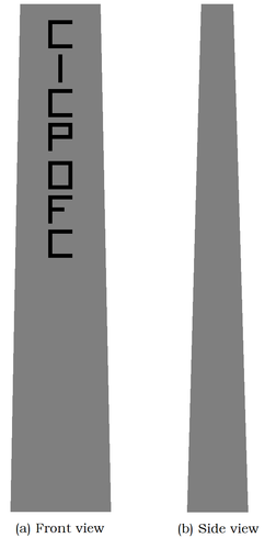 CICP OFC Route Markers