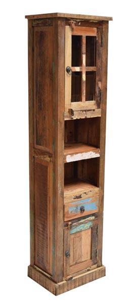 Reclaimed Wooden Book Shelf