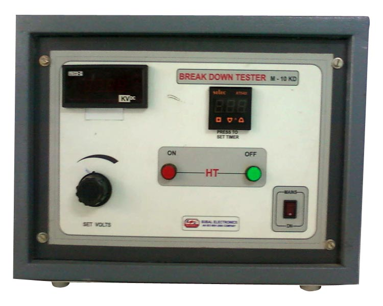 high voltage breakdown tester manufacturer in nashik maharashtra rh exportersindia com
