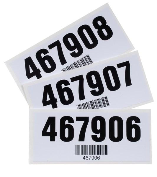 Gallas barcode Label