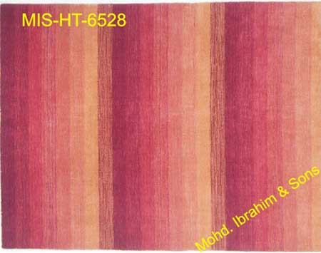Hand Knotted Woolen Carpets (MIS-HT-6528)