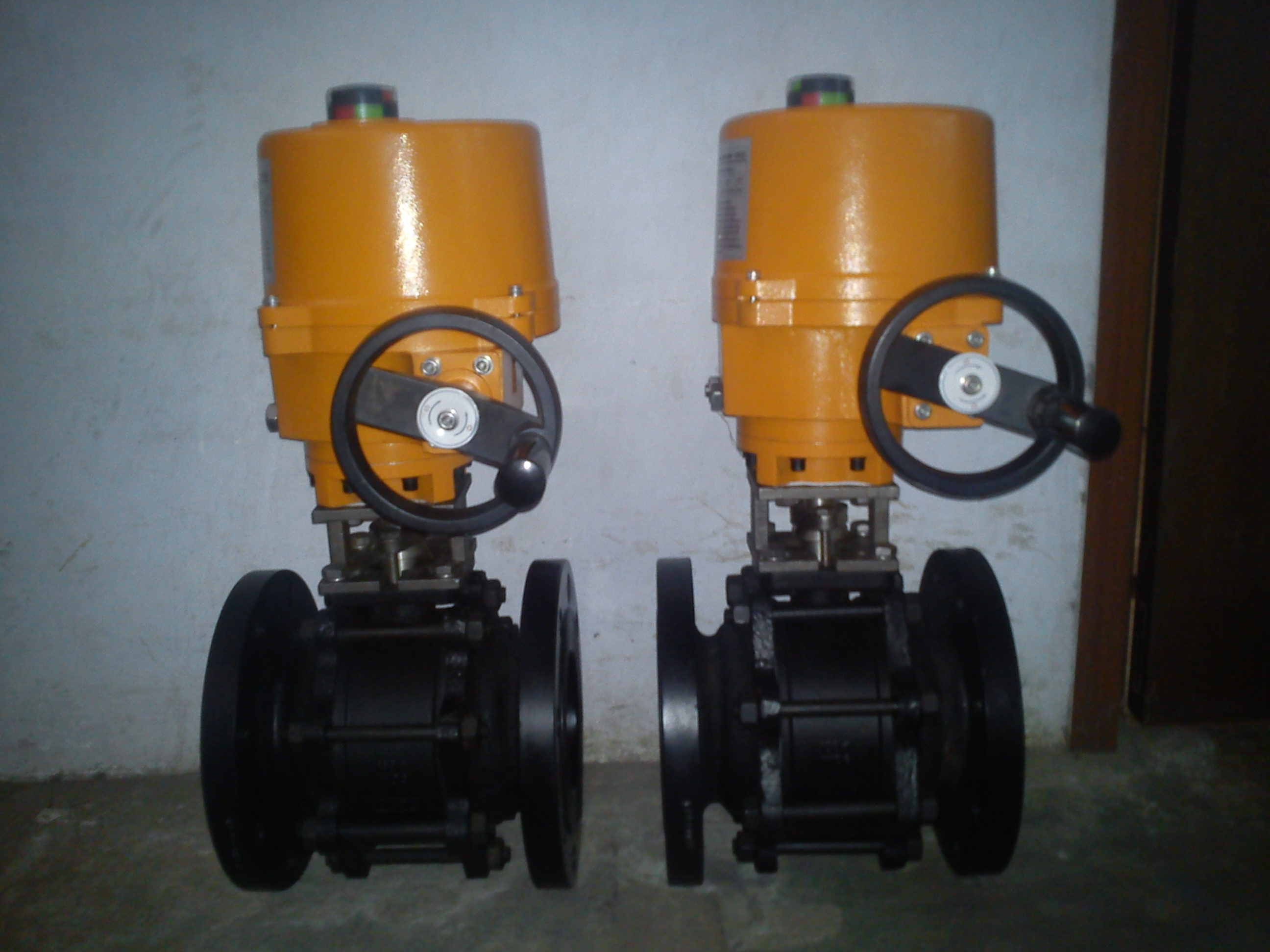 Ball Valve With Electrical actuator (MOD-BV)