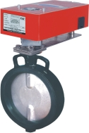 Damper Actuator Operated Butterfly Valve (RTD-Butterfly-Valve)