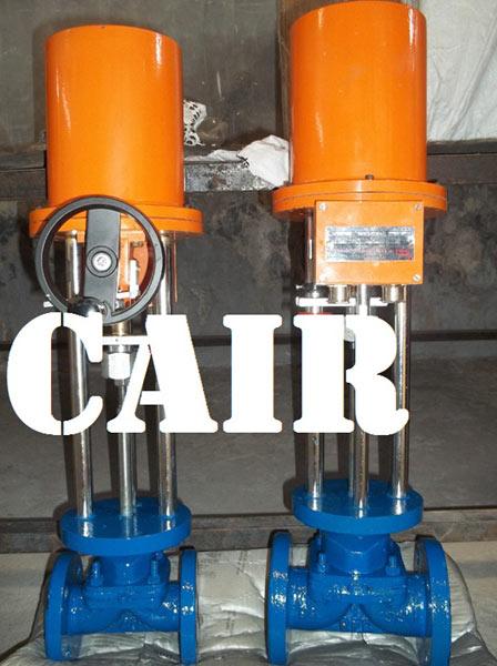 Electric Actuator Operated Diaphragm Valves