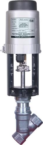 Motorized Y Type Control Valve (HLC-Y-Type-Control-V)