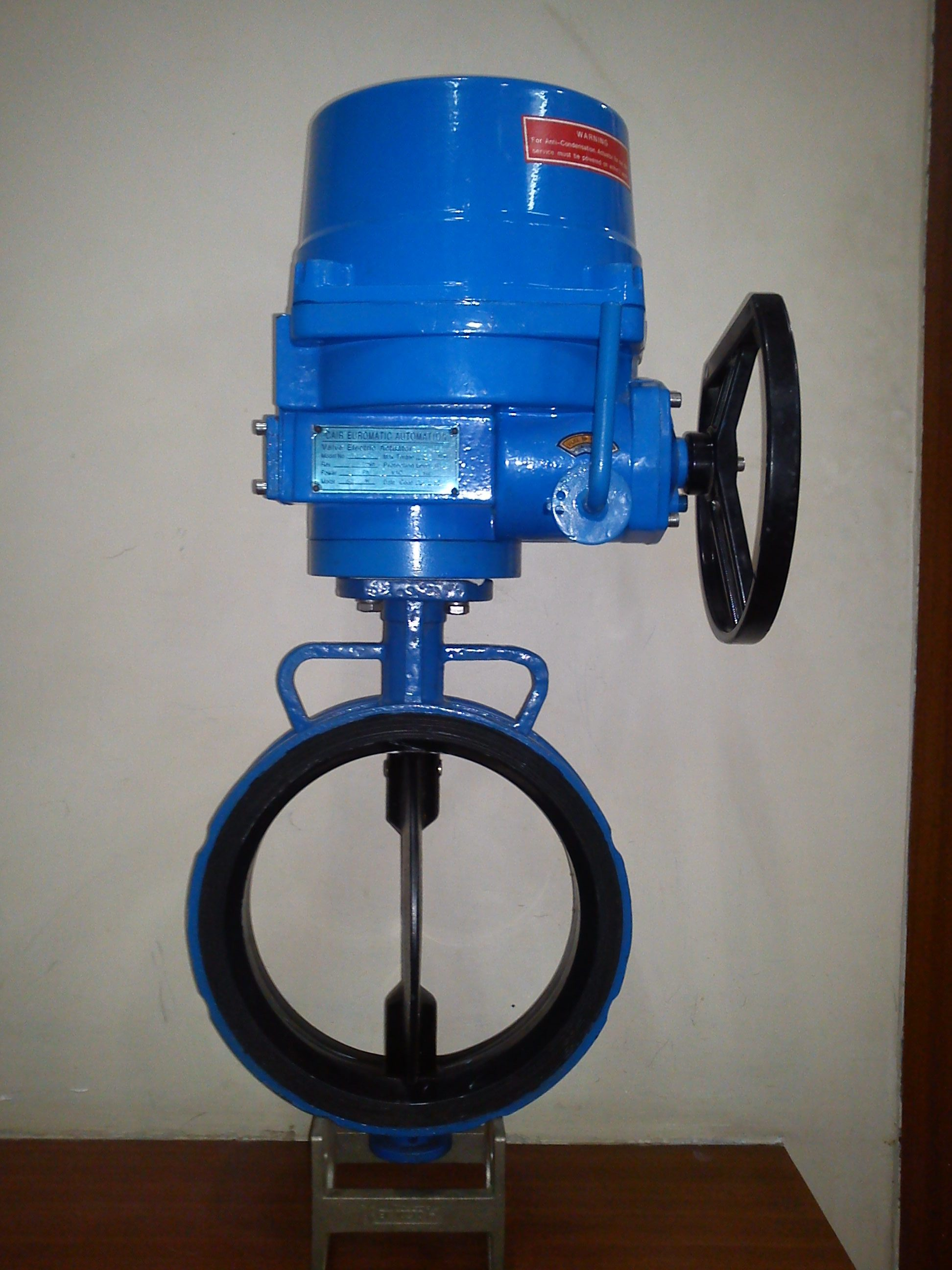 Three Phase Actuator Operated Butterfly Valve - Atq (ATQ-ECO-BFV)