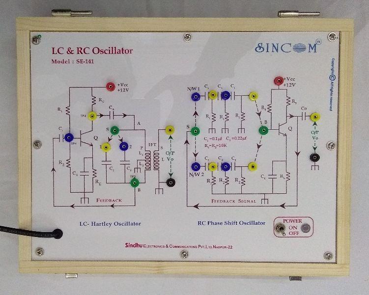 BJT LC and RC Oscillator SE-141 Manufacturer in Nagpur Maharashtra