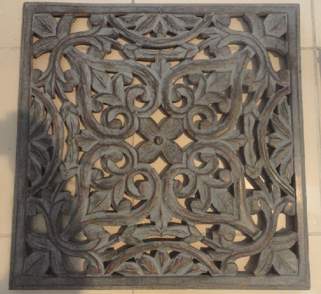 Carved Wooden Wall Decor Manufacturer In Uttar Pradesh India By