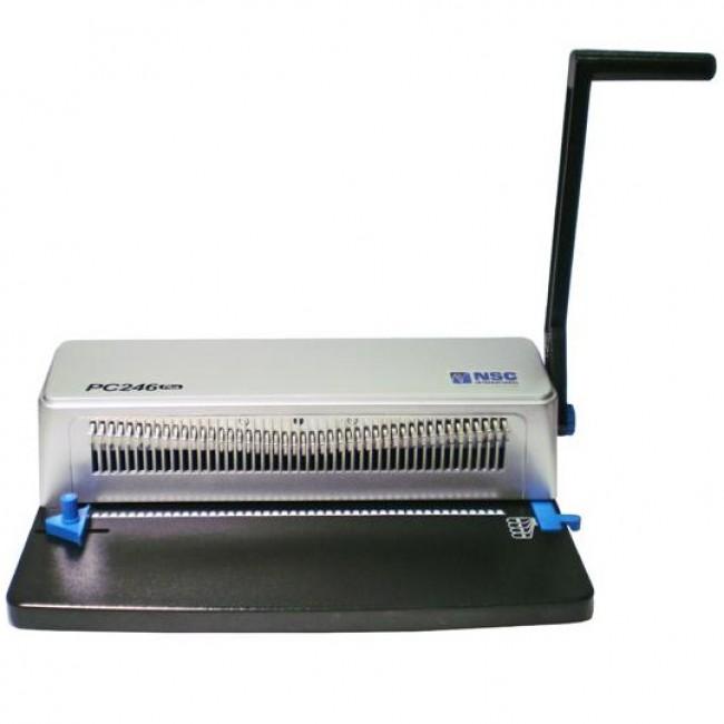 PC246 Plus Plastic Coil Punch Machine