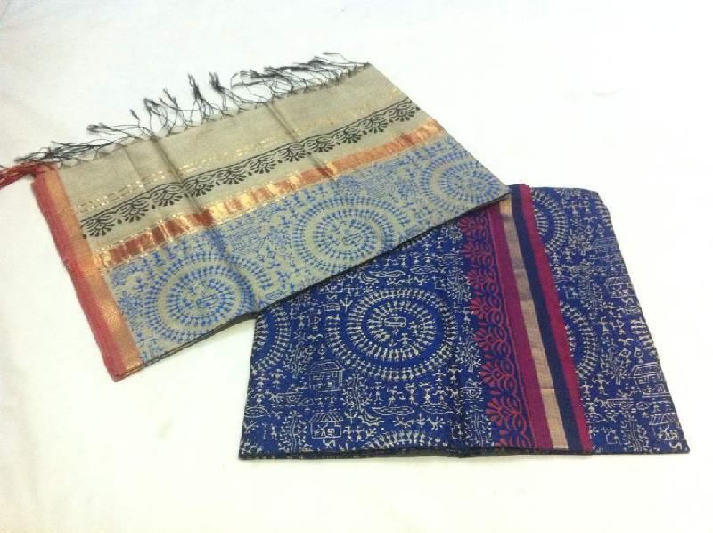 Maheshwari Printed Unstitched Suits