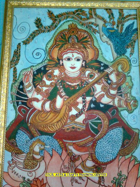 Mural Glass Fabric Nib Painting Classes In Trivandrum Manufacturer In Id 3910606