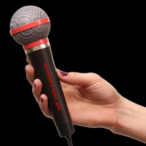 "10"" Plastic Toy Microphone"