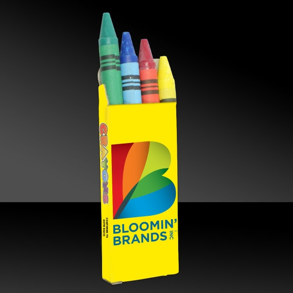 4 Pack of Wax Crayons