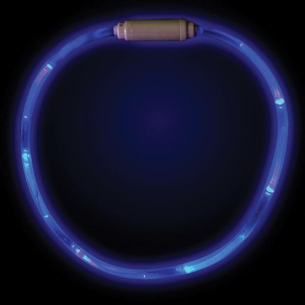 "Blue 27"" LED Glow Light Up Necklace"
