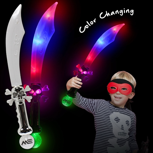 Flashing LED Pirate Sword