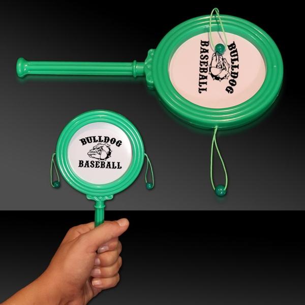 "Green 7"" Plastic Noise Drum"