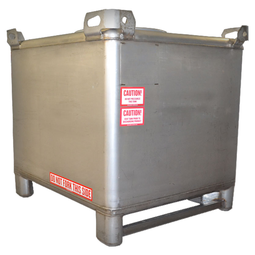 180 gallon stainless steel ibc tank manufacturer in united states by premier container id. Black Bedroom Furniture Sets. Home Design Ideas