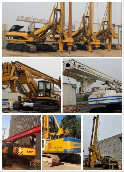 Services - Refurbished used drilling rig piling machine from