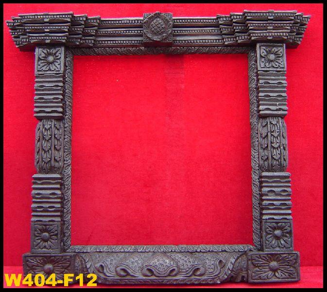 Wooden craft mirror frame manufacturer in kathmandu nepal for Wooden mirror frames for crafts