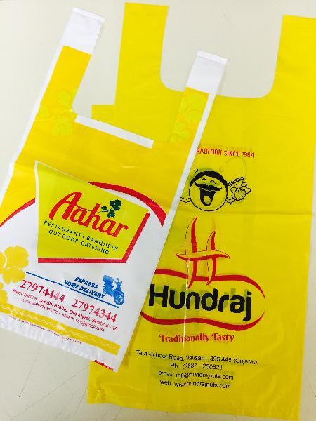 LDPE Printed U Cut Bags