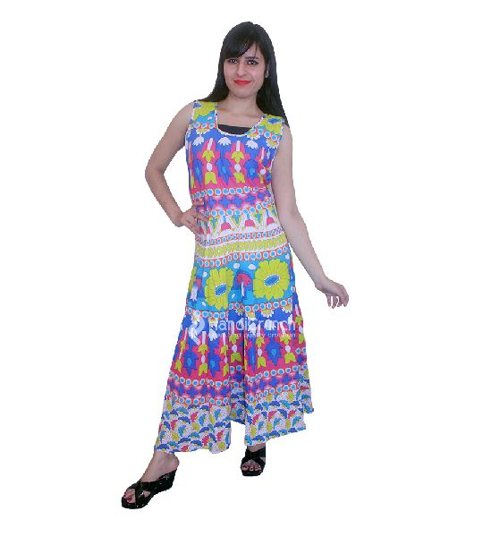 Colorful Flower Printed Designer Evening Gown Manufacturer in ... d18b0a342