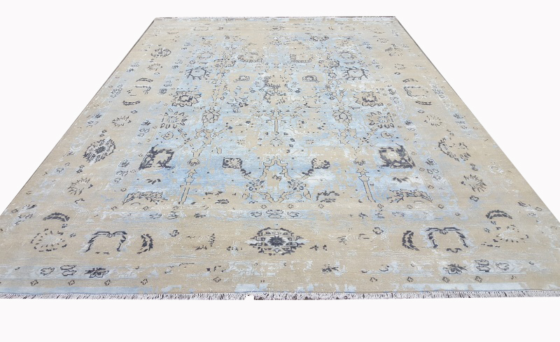 Bamboo Wool Silk Modern Contemporary rugs (UDWOO544)