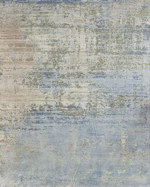 Living Room Wool Silk Oxidized Rugs (UDWSO525)