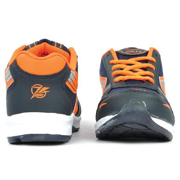 Mens Black \u0026 Orange Shoes Manufacturer