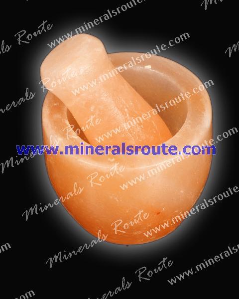 Himalayan Salt Mortar & Pestle Manufacturer in Wah Cantt